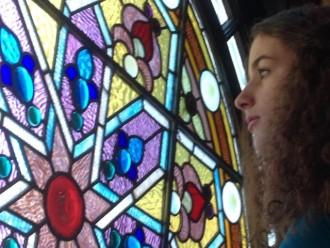 Original Stained Glass window