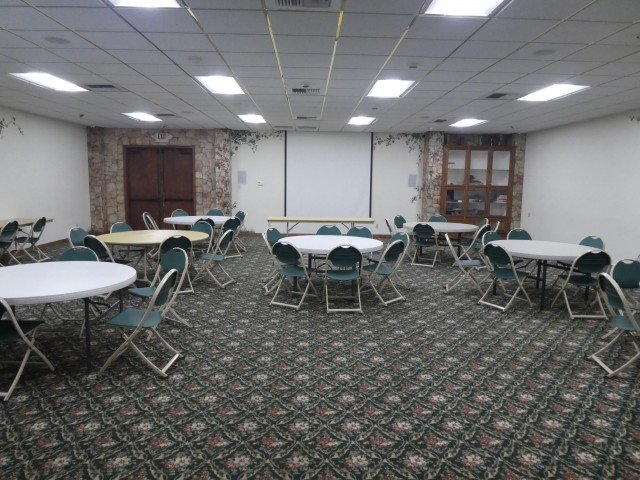 We offer banquet space