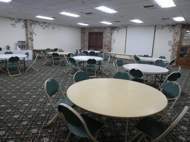 Banquet Sitting Area