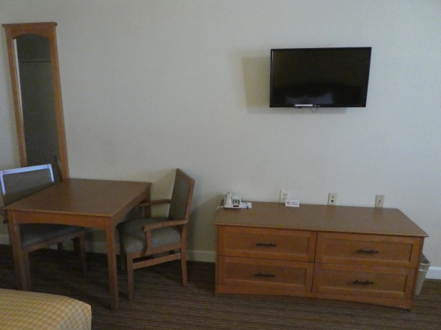 All rooms feature DirectTV