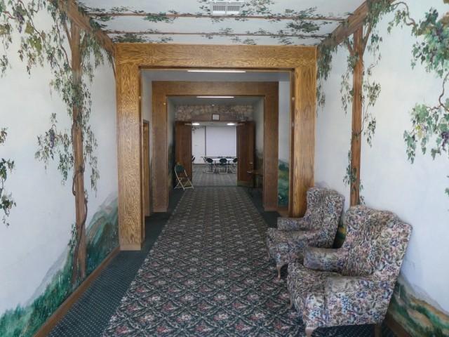 Hand Painted Corridor