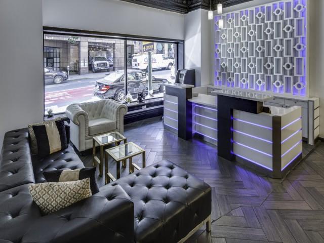 Adante Hotel Lounge Area