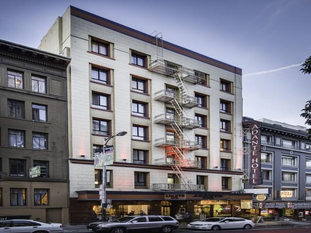 San Francisco Adante Hotel Exterior