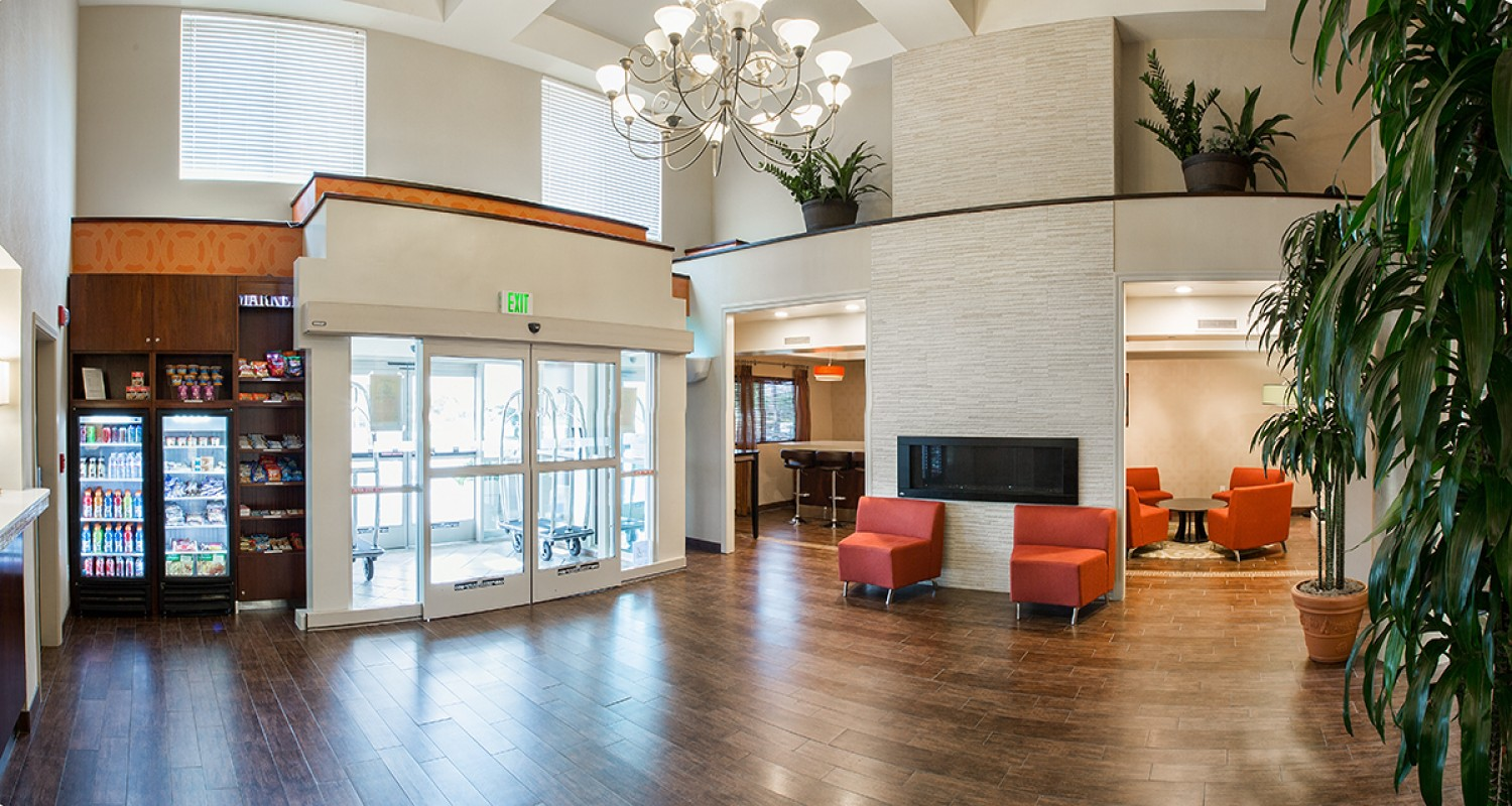 Lobby and Pantry View