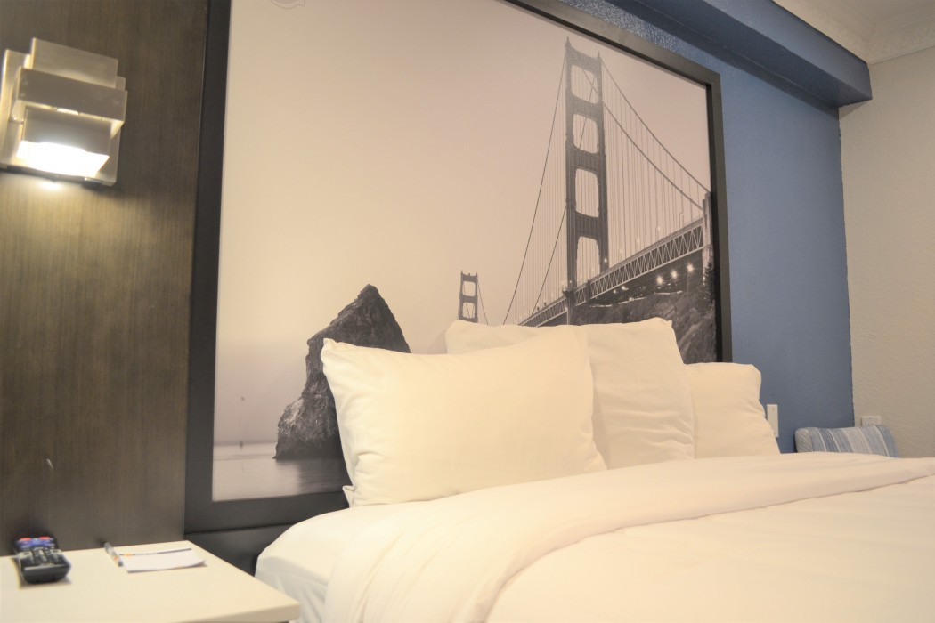 Guest Room with Art Work