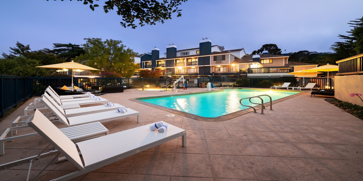 Inviting Outdoor Pool Area