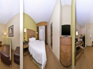 2 Double Beds Golf View Non-Smoking