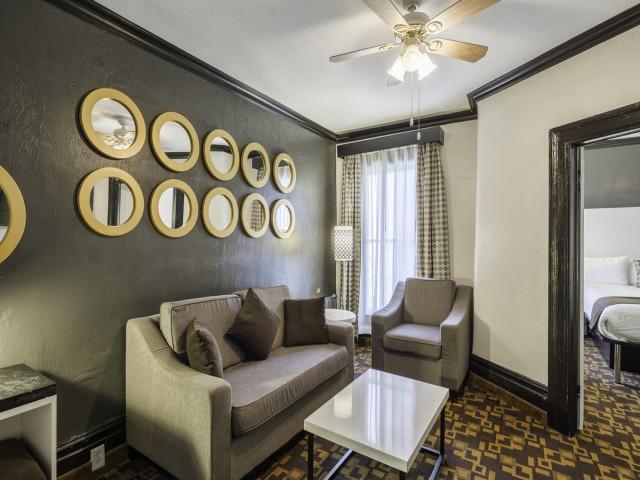 Adante Hotel San Francisco - Sitting Area in King Suite