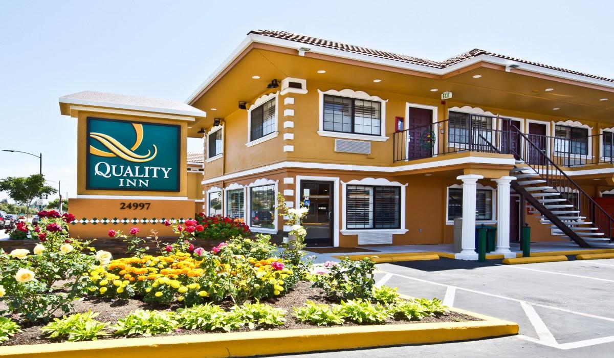 Quality Inn Hotel Hayward -  Quality Inn Hayward Exterior