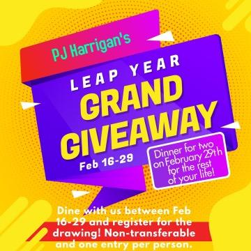 Leap Year Grand Giveaway