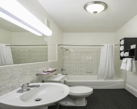 Two Queen Bed Bathroom