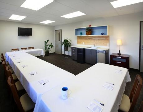 River Inn Hotel in Seaside, Oregon - Meeting Room in a U Shape