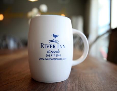 River Inn Hotel in Seaside, Oregon - River Inn at Seaside Mug
