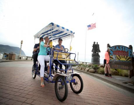 River Inn Hotel in Seaside, Oregon - Free Bike Rentals at the River Inn