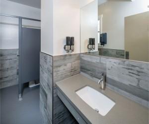 Minna Hotel SF - Guest Bathroom Vaniety