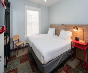 Minna Hotel SF - Twin Beds