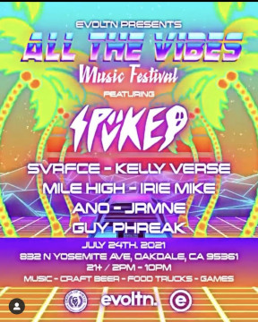 Evoltn Presents | All the Vibes Music Festival
