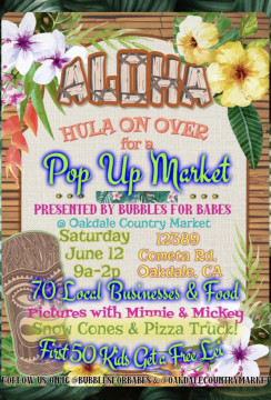 Oakdale Country Market presents The Aloha Market