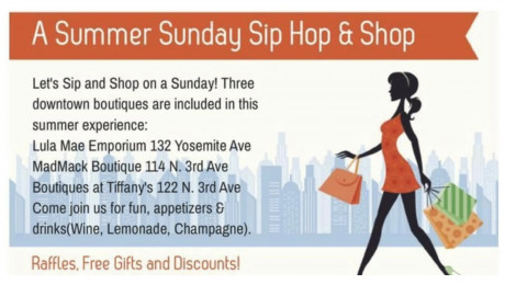 Summer Sip , Hop, & Shop