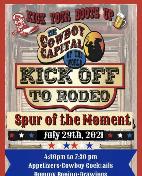 Kick off to Rodeo