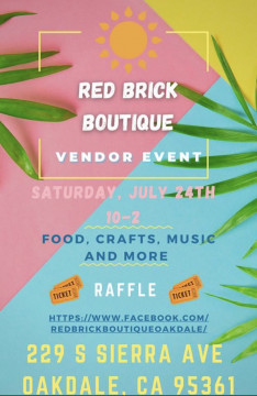 Vendor Event hosted by Red Brick Boutique