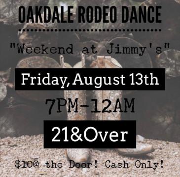 Oakdale Rodeo Dance