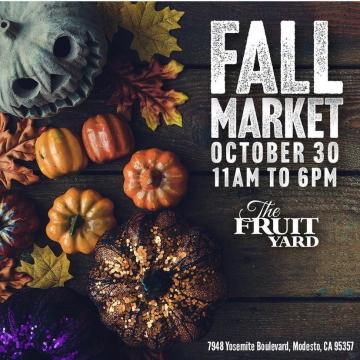 Fall Market Poster
