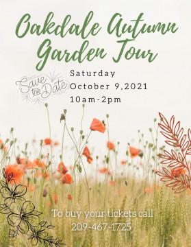 Oakdale Autumn tour poster