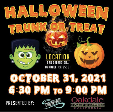 Halloween Trunk or Treat Poster