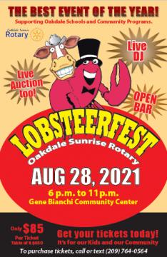 Oakdale Sunrise Rotary presents Lobsteer Fest _1