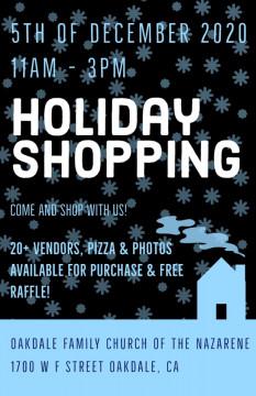 Oakdale Family Church of Nazarene presents Holiday Shopping