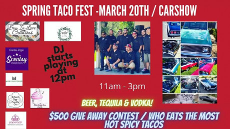 Primo\'s Tacos presents Spring Taco Fest & Car Show_0