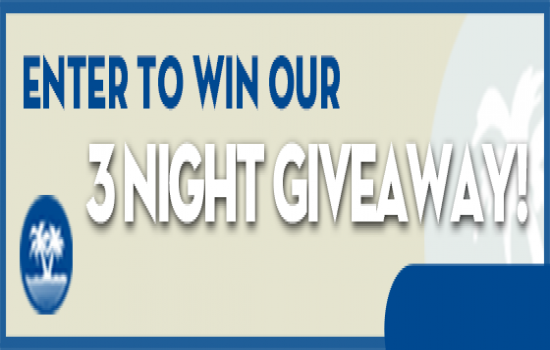 Win Our 3-Night Giveaway