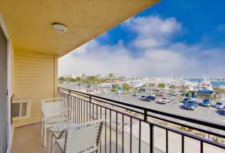 Ramada San Diego Airport - Balcony