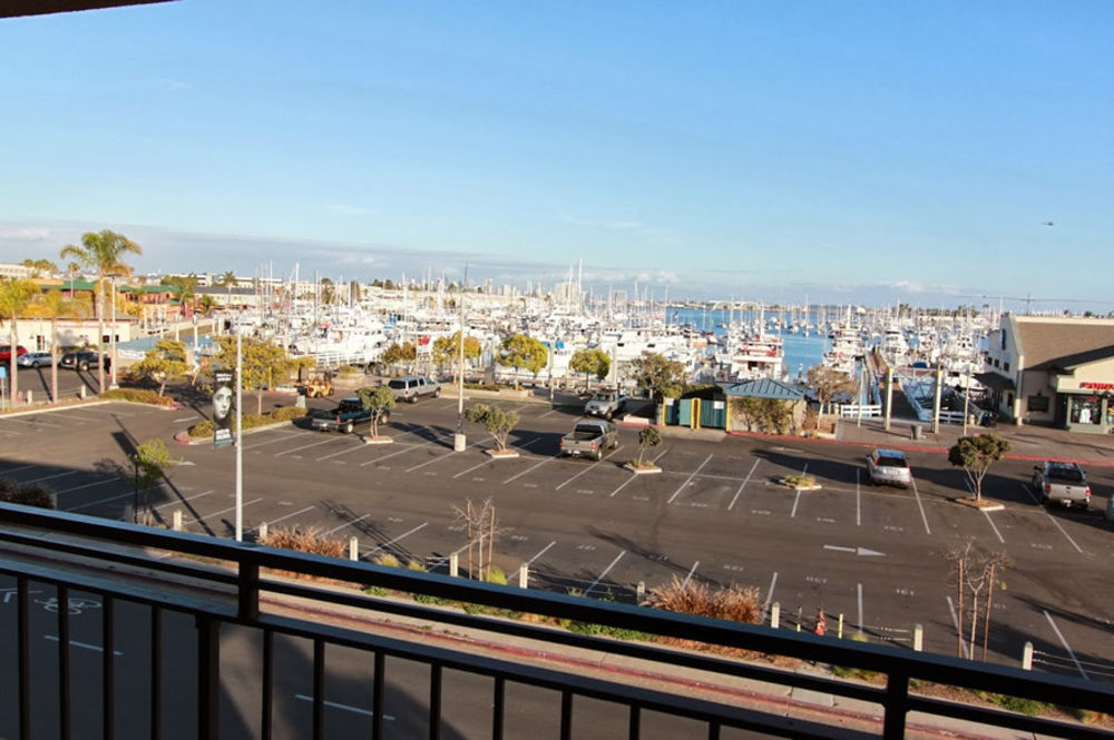Ramada San Diego Airport - View from Hotel